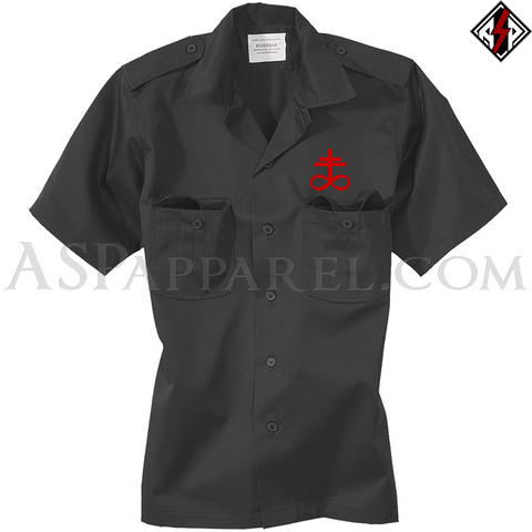 Brimstone Symbol Short Sleeved Heavy Military Shirt