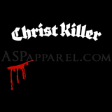 Christ Killer Ladies' T-Shirt-satanic-clothing-heathen-merchandise-by-ASP Culture