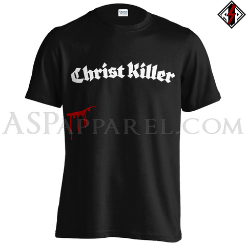Christ Killer T-Shirt-satanic-clothing-heathen-merchandise-by-ASP Culture
