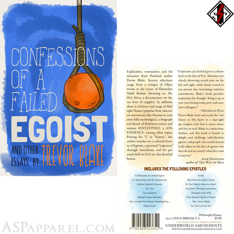 Confessions of a Failed Egoist: and Other Essays-satanic-clothing-heathen-merchandise-by-ASP Culture