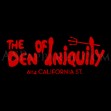 Den of Iniquity T-Shirt-satanic-clothing-heathen-merchandise-by-ASP Culture