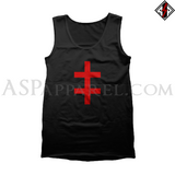Double Cross (Cross of Lorraine) Tank Top