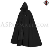 Eihwaz Rune Hooded Ritual Cloak-satanic-clothing-heathen-merchandise-by-ASP Culture