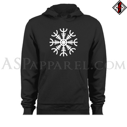 Helm of Awe (Aegishjalmur) Hooded Sweatshirt (Hoodie)