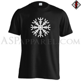 Helm of Awe (Aegishjalmur) T-Shirt-satanic-clothing-heathen-merchandise-by-ASP Culture