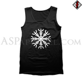Helm of Awe (Aegishjalmur) Tank Top-satanic-clothing-heathen-merchandise-by-ASP Culture