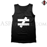Inequality Symbol Tank Top-satanic-clothing-heathen-merchandise-by-ASP Culture