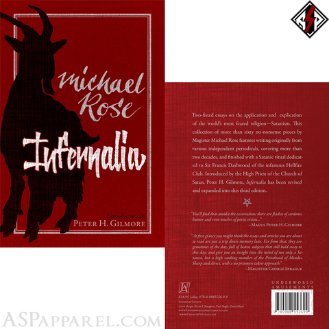 Infernalia: The Writings of Michael Rose-satanic-clothing-heathen-merchandise-by-ASP Culture