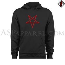 Interwoven Pentagram Hooded Sweatshirt (Hoodie)