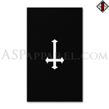 Inverted Cross Banner Flag (Vertical)