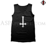 Inverted Cross Tank Top-satanic-clothing-heathen-merchandise-by-ASP Culture