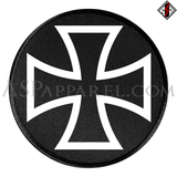Iron Cross Circular Patch