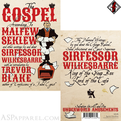 The Gospel According to Malfew Seklew-satanic-clothing-heathen-merchandise-by-ASP Culture