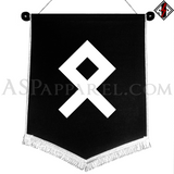 Odal Rune Chevron Pennant-satanic-clothing-heathen-merchandise-by-ASP Culture