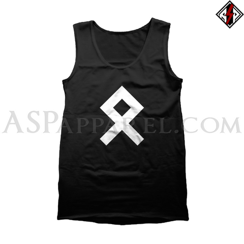 Odal Rune Tank Top-satanic-clothing-heathen-merchandise-by-ASP Culture