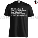Pentagonal Revisionism T-Shirt-satanic-clothing-heathen-merchandise-by-ASP Culture