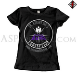 Dr. Robert Ing's Perception Ladies' T-Shirt-satanic-clothing-heathen-merchandise-by-ASP Culture