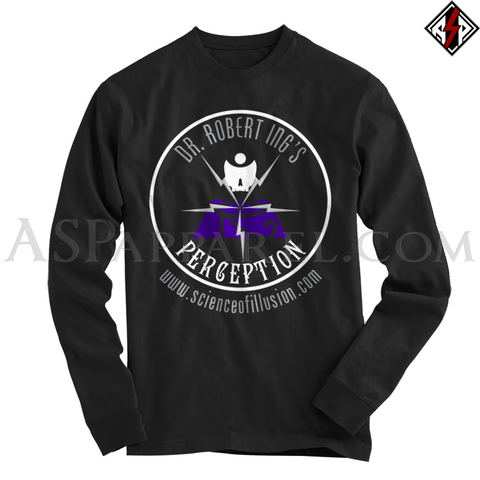 Dr. Robert Ing's Perception Long Sleeved T-Shirt-satanic-clothing-heathen-merchandise-by-ASP Culture
