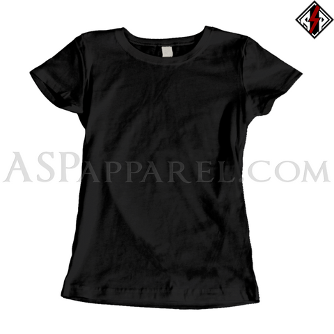 Plain Ladies' T-Shirt-satanic-clothing-heathen-merchandise-by-ASP Culture