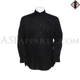 Plain Long Sleeved Shirt-satanic-clothing-heathen-merchandise-by-ASP Culture