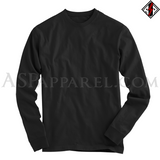 Plain Long Sleeved T-Shirt-satanic-clothing-heathen-merchandise-by-ASP Culture