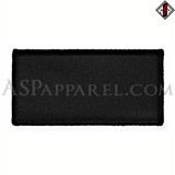 Plain Rectangular Patch-satanic-clothing-heathen-merchandise-by-ASP Culture