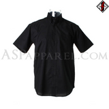 Plain Short Sleeved Shirt-satanic-clothing-heathen-merchandise-by-ASP Culture
