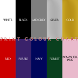 Plain Print Colour Chart