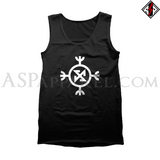 Ragnarok Rune (Satanic Bind Rune) Tank Top-satanic-clothing-heathen-merchandise-by-ASP Culture