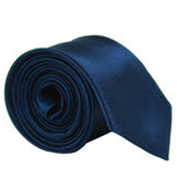 Iron Cross Satin Skinny Tie