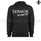 Sermo III Hooded Sweatshirt (Hoodie)-satanic-clothing-heathen-merchandise-by-ASP Culture