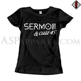 Sermo III Ladies' T-Shirt-satanic-clothing-heathen-merchandise-by-ASP Culture