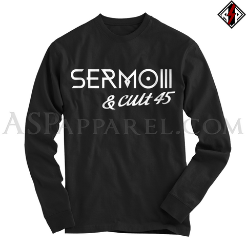 Sermo III Long Sleeved T-Shirt-satanic-clothing-heathen-merchandise-by-ASP Culture