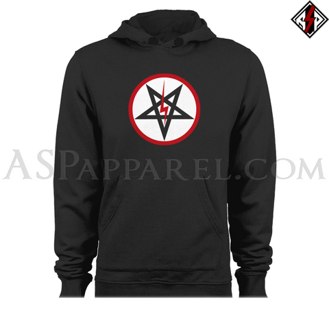 Sig Pentagram Deluxe Hooded Sweatshirt (Hoodie)-satanic-clothing-heathen-merchandise-by-ASP Culture