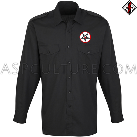 Sig Pentagram Deluxe Long Sleeved Light Military Shirt