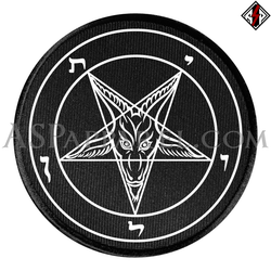 Sigil of Baphomet Circular Patch