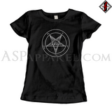 Sigil of Baphomet Ladies' T-Shirt