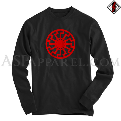 Sonnenrad (Black Sun) Long Sleeved T-Shirt