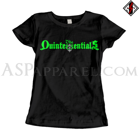The Quintessentials Ladies' T-Shirt-satanic-clothing-heathen-merchandise-by-ASP Culture