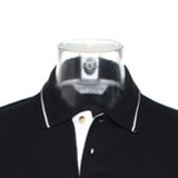 Inverted Cross Tipped Polo Shirt-satanic-clothing-heathen-merchandise-by-ASP Culture