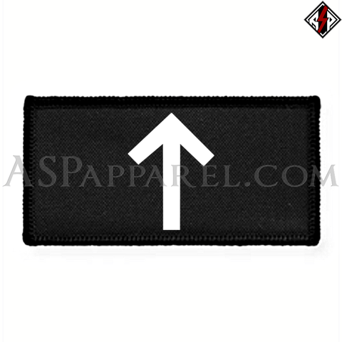 Tiwaz Rune Rectangular Patch-satanic-clothing-heathen-merchandise-by-ASP Culture