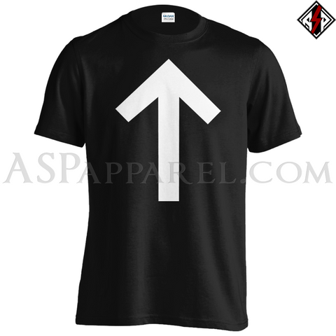 Tiwaz Rune T-Shirt - Large Print-satanic-clothing-heathen-merchandise-by-ASP Culture