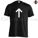 Tiwaz Rune T-Shirt-satanic-clothing-heathen-merchandise-by-ASP Culture