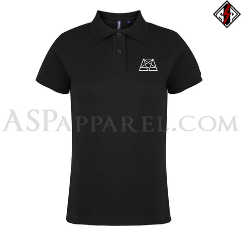 Trapezoid Pentagram Ladies' Polo Shirt
