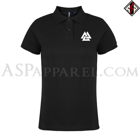 Valknut Ladies' Polo Shirt