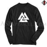 Valknut Long Sleeved T-Shirt