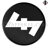 Wolfsangel (Wolf's Hook) Circular Patch-satanic-clothing-heathen-merchandise-by-ASP Culture