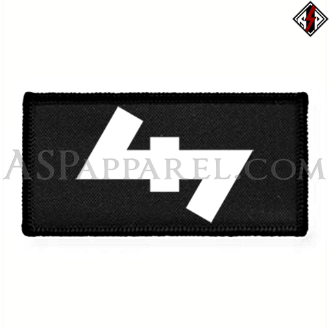 Wolfsangel (Wolf's Hook) Rectangular Patch-satanic-clothing-heathen-merchandise-by-ASP Culture
