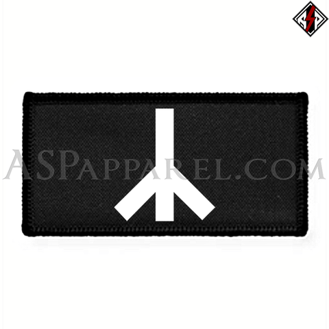 Yr Rune Rectangular Patch-satanic-clothing-heathen-merchandise-by-ASP Culture