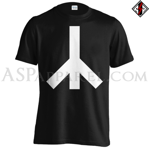 Yr Rune T-Shirt - Large Print-satanic-clothing-heathen-merchandise-by-ASP Culture